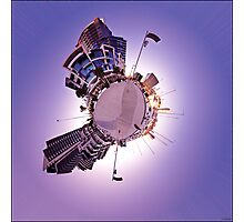 Welcome To My Planet Photographic Print