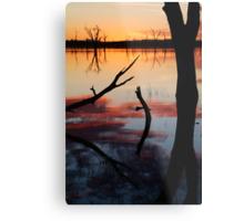 Lake Fyans Sunrise Metal Print