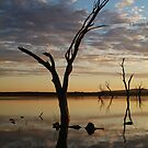 Lake Fyans Grampians by Joe Mortelliti
