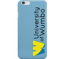 University of Wumbo iPhone Case/Skin