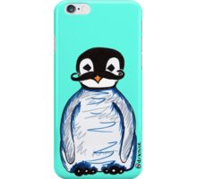 Penguin Mustache iPhone Case/Skin