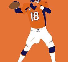Peyton Williams Manning by BeinkVin