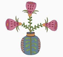 flower pot illustration 1 by sriknick