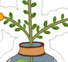 flower pot illustration 1 Sticker
