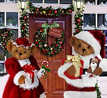 ¨*•♫♪¸¸HAVE YOURSELF A BEARY LITTLE CHRISTMAS - PICTURE, MUGS,TRAVEL MUGS,PILLOW, & TOTE BAG ho HO ho¨*•♫♪¸¸ by ✿✿ Bonita ✿✿ ђєℓℓσ