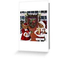 ¨*•♫♪¸¸HAVE YOURSELF A BEARY LITTLE CHRISTMAS - PICTURE, MUGS,TRAVEL MUGS,PILLOW, & TOTE BAG ho HO ho¨*•♫♪¸¸ Greeting Card