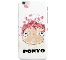 Little Ponyo ink iPhone Case/Skin