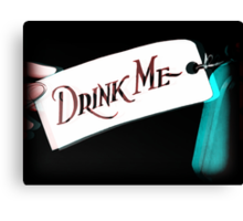 Drink me tipsy Canvas Print