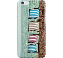 Deck chairs iPhone Case/Skin
