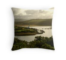 Glen Aire River, Otway Ranges Throw Pillow