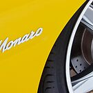 Yellow Holden Monaro by John Jovic