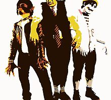 The Ghouligans! by theslackpack