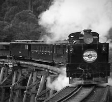 ~ Puffing Billy ~ by Karen Lewis