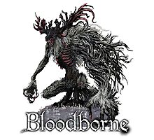 Cleric Beast from Bloodborne Photographic Print