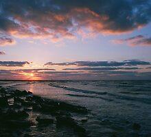 Galveston, TX sunrise by ChadDittmar