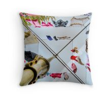 Hills Hoist Throw Pillow