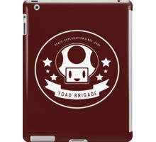 Toad Brigade Exploration Logo iPad Case/Skin