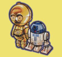 """DROID LOVE"" POOTERBELLIES Kids Clothes"