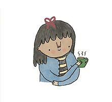 Tea Babe by tuesdayalissia