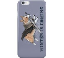Stark Corgi iPhone Case/Skin
