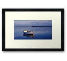 Solitude - Swan Bay - Queenscliff - Victoria Framed Print