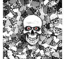 Skulls With Eyes Photographic Print