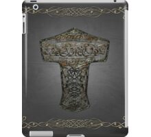 Celtic Wood Hammer Thor iPad Case/Skin