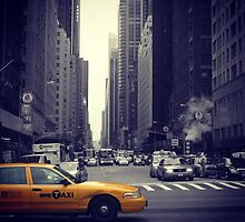 New York Vintage Taxi Cab by cedrikb
