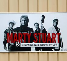 Marty Stuart Sign by WildestArt