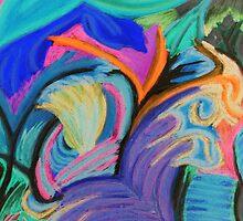 Inverted Jungle Cat by Sarah Bentvelzen