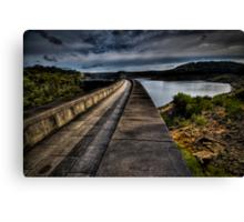 Woronora Dam Canvas Print