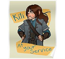 Kili at Your Service Poster