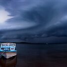 batten down the hatches - severe storm Qld by Tony Middleton