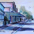 Fisher Street, Clifton Queensland by MrCreator