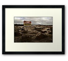 One Stop Shop Framed Print
