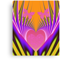 Love and Butterflies Canvas Print