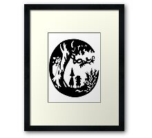 Into the unknown. Framed Print