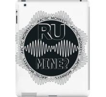 R U Mine? Gry/Blk/Blk iPad Case/Skin