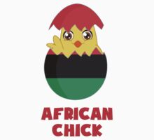 African Chick, a Girl From Africa by TheShirtYurt