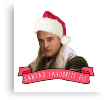 Santa's Favourite Elf - Legolas Canvas Print