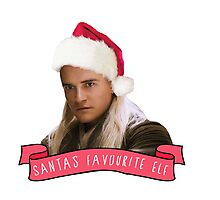 Santa's Favourite Elf - Legolas Photographic Print