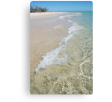 Pure Beach Canvas Print
