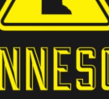 Minnesota Extreme Warning Sticker