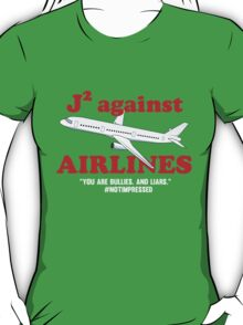 J2 Against Airlines (Supernatural) T-Shirt