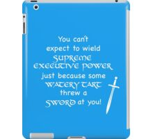 Farcical Aquatic Ceremony iPad Case/Skin