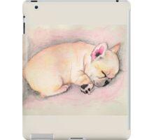 Sleeping Frenchie iPad Case/Skin