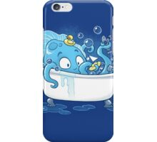 Kracken Bath iPhone Case/Skin