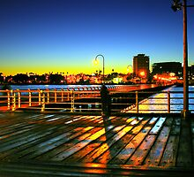 St kilda pier 6.30am by Andrew Wilson