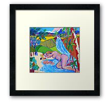 Garden Of Eden Queensland Style Framed Print