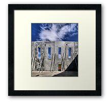 Transitional Industrial Utopia - .02 Framed Print